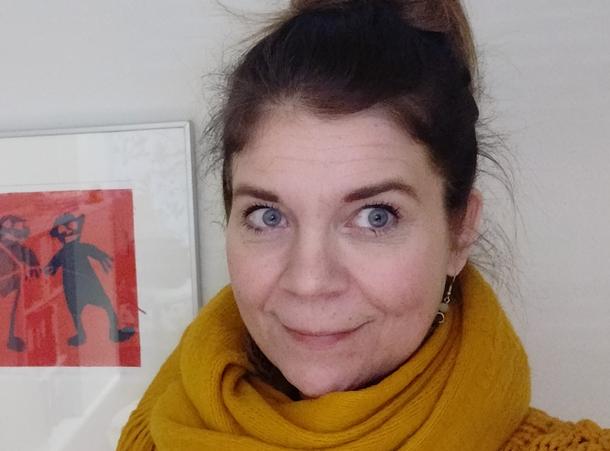 Kuvassa Kehitysvammatuki 57 ry:n toiminnanjohtaja Nina Korventaival.