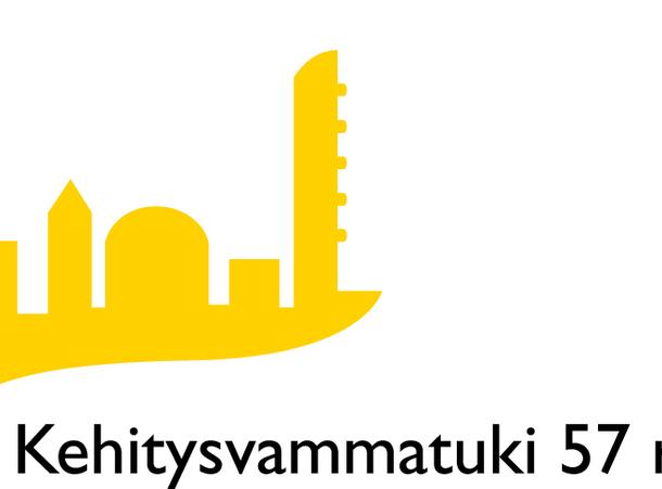 kuva, jossa kehitysvammatuki 57 ry:n logo