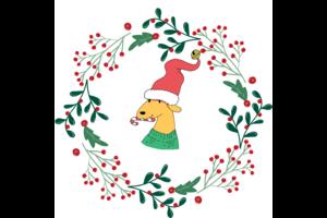 Hyvän joulun toivotus
