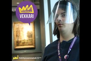 Vekkarin Pyry ehdolla Vuoden vapaaehtoiseksi